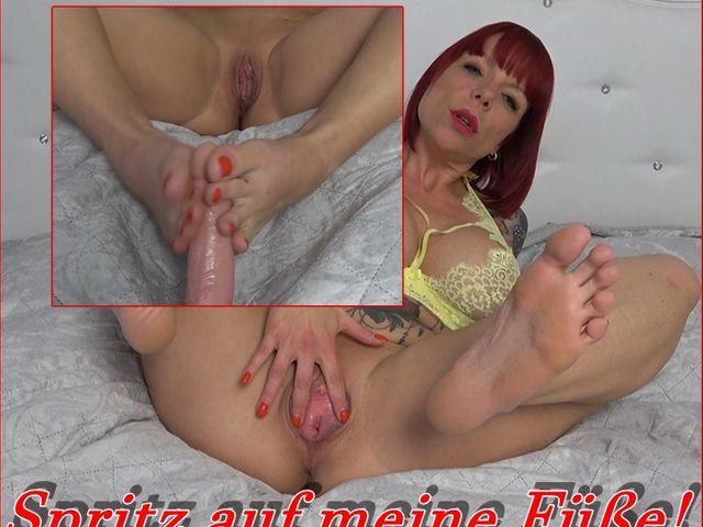 Wunschvideo: Wichs auf meine Füße! - DirtyTalk!